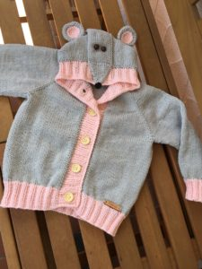 Maus Strickjacke | Mamselli